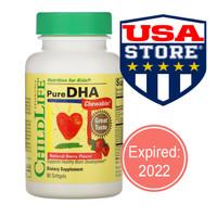 Childlife Pure DHA 90 Chewable Softgels vitamin otak pintar anak bayi
