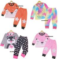 Piyama Za-ra Kids Size 7-10 Tahun / EXPORT Quality Baju Tidur Kaos