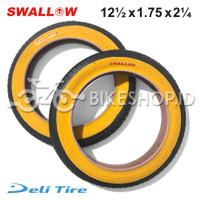 Ban Luar Sepeda SWALLOW Ukuran 12 1/2 x 1.75 x 2 1/4 Sepeda Anak