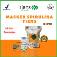 Masker Alami Penghilang Bekas Jerawat & Flem Hitam   Masker Spirulina