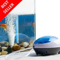 Pompa Udara Aquarium Besar Akuarium Mini Pembuat Gelembung Udara