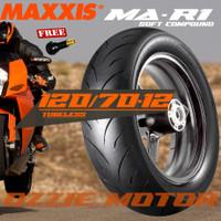 MAXXIS MA-R1 Softcompound 120 70-12 Ban Motor Tubeless Vespa Matic