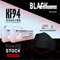 Masker Medis Masker korea Niancare 4Ply KF94 -Evo Sensi Convex 3D KN95 - Hitam