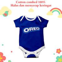 Baju bayi jumper motif unik karakter oreo