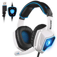 HEADSET GAMING SADES SPIRIT WOLF