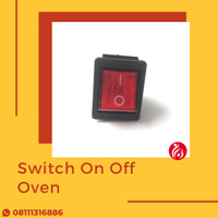 Spare Part Oven - SWITH ON OFF MERAH