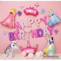 Balonasia unicorn and princess set