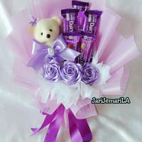Buket Coklat;buket valentine;buket bunga valentine;hadiah untuk pacar