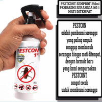 Cairan anti serangga PESTCONT semprot pembasmi serangga obat serangga