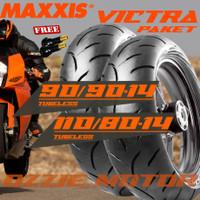 PAKET BAN MOTOR VARIO LEXI MAXXIS VICTRA 90/90 14 & 110/80 14 S98ST