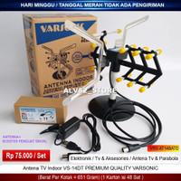 Antenna TV Indoor HDTV VS 14 GT + Boster penguat sinyal