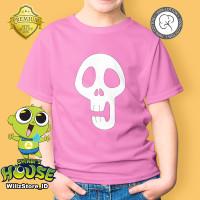 KAOS ANAK Hari Koo Shinbi House | Shinbi's | Kaos Anak Umur 1-12 tahun - Merah Muda, 1-2 tahun