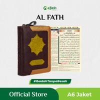 Al Fath Jaket A6 Al-Quran AlQuran Terjemah Rasm Utsmani Tajwid Warna