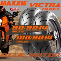 PAKET BAN MOTOR VARIO LEXI MAXXIS VICTRA 90/90 14 & 100/90 14 S98ST