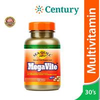 Sea Quill Megavite 30 Tablet/Multivitamin/Daya Tahan Tubuh/Imunitas