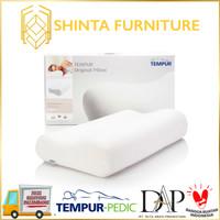 Tempur Original Pillow Ergonomic Support / Bantal Kepala Tempur M/L/XL