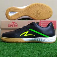Sepatu Futsal Specs Metasala Magnum - Black / Safety Yellow - 40