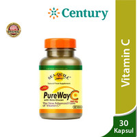 Sea Quill Pureway C 500 Mg 30 Tablet/Vitamin C/Daya Tahan Tubuh