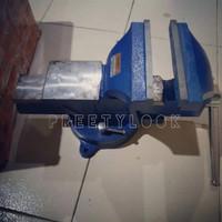 BENCH VICE SWIPEL BASE 6 In 150 mm - Catok Ragum Ukuran 6 inch APEX