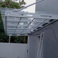 Canopy/Kanopi,Carport Atap Spandek Transparan