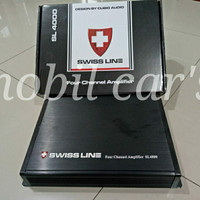 processor/ amplifier swiss line 4 channel/ audio mobil