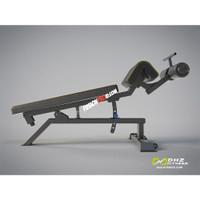 DHZ Adjustable Decline Bench Commercial E3037 Bangku Fitness Komersial