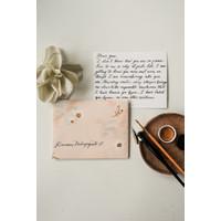 Love Letter - Calligraphy / Gift / Kartu Ucapan
