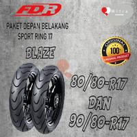 BAN LUAR FDR PAKET 80/80-17 BLAZE DAN 90/80-17 BLAZE TUBELESS