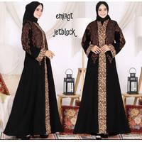 Gamis Arab Bordir Turkey Hitam By Salaf Boutique Of Abaya