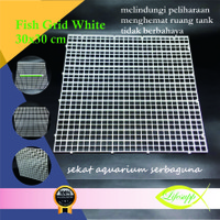 Sekat Aquarium Plastik Grid Divider Holder Tray Egg Crate 30 x 30 cm W