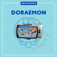 Gesper / Ikat Pinggang TK Karakter Anak Perempuan - Doraemon, Hitam