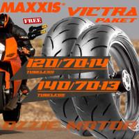 PAKET BAN MOTOR ADV 150 NEW* MAXXIS VICTRA 120/70 14 & 140/70 13 S98ST