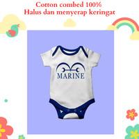 Baju jumper bayi karakter unik lucu karakter marine one piece