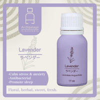 Essential Oil Lavender - Archipelago to Calm Stress, Promote Sleep