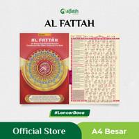 Al Fattah A4 Al-Quran AlQuran Ayat Terjemah Perkata Latin Tajwid Angka