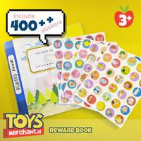 Reward Book Animal Kingdom termasuk 400 pcs stiker / Buku anak