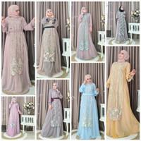 Gamis Dress Pesta Brokat by Baenetta Ori. Kebaya. Baju Muslim Wanita