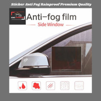 Sticker Anti Fog Embun Hujan/Sticker Rainproof Mobil Premium Quality