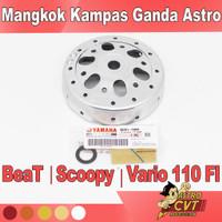 Mangkok Kampas Ganda BeAT Fi Scoopy Fi Vario 110 Fi Custom Anti Gredeg