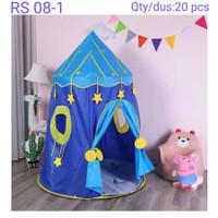 Tenda Anak Tenda Anak Camping House Play Tent Mainan Tenda Lipat RS08 - Biru