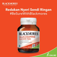 blackmores glucosamine sulfate 1500 isi 30 vitamin tulang dan sendi