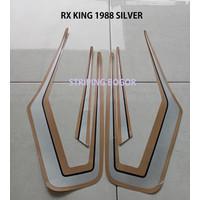 Striping Stiker Motor Yamaha RX King 1988 Silver