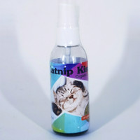Katnip Kiss Cat - Catnip Spray Organik Penghilang Stress kucing