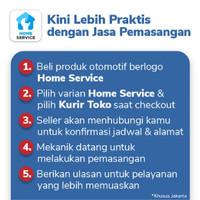 Karpet Mobil Honda Brio (2016-Sekarang) Trapo Indonesia Fullset - Home Service