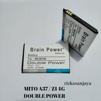 Baterai Batre Mito A37 / Z1 4G BA00140 Double Power Battery Hp