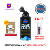 Polar Cold - AC Booster (Ultra Synthetic R-134A) | Pendingin AC Mobil