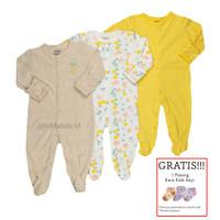 Baju Tidur Bayi Sleepsuit 3 in 1 Mamas Papas Premium Motif Lemon