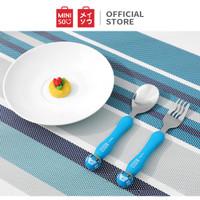 MINISO Marvel Set Sendok Garpu Travel Peralatan Makan Stainless 2 Pcs