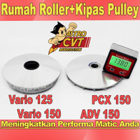 Pulley Rumah Roller Vario 125 Vario 150 PCX 125 PCX 150 Racing Custom - VARIO 150