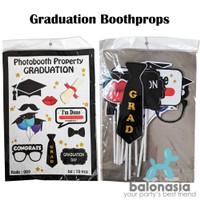 Balonasia booth props graduation/wisuda